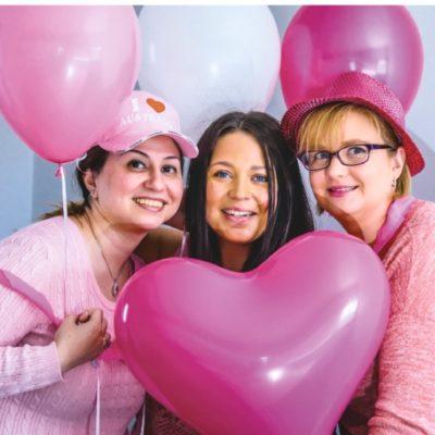 Pink Ribbon Event for fundraising for cervical cancer by Cranbourne Doctors